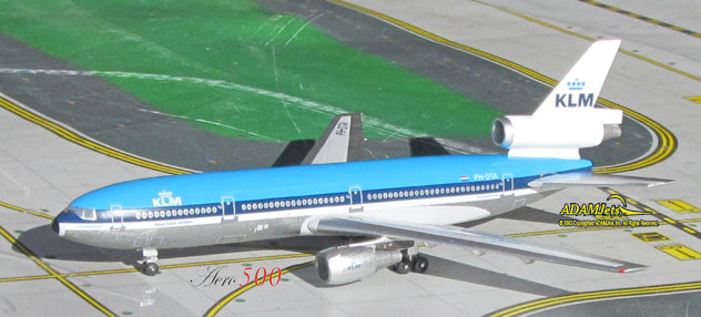 KLM - Royal Dutch Airlines McDonnell Douglas DC-10-30 Reg. PH-DTA