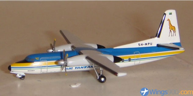 Air Tanzania Airlines Fokker F-27 Reg. 5H-MOU