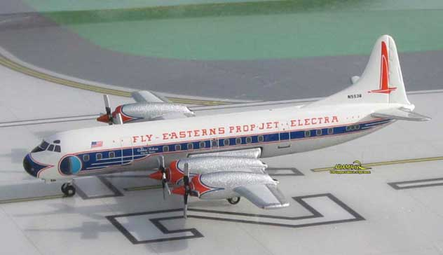 Eastern Airlines Lockheed L-188A Electra Reg. N5536