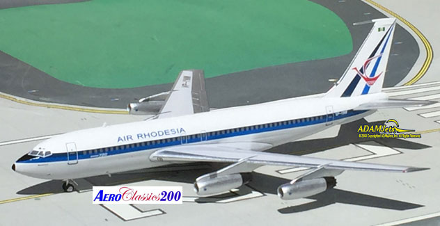 Air Rhodesia Airlines Boeing B720-025 Reg. VP-YNM