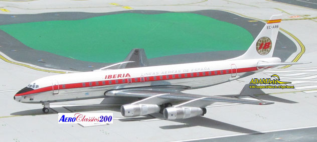 Iberia Airlines of Spain Douglas DC-8-52 Reg. EC-ARB