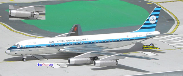 KLM - Royal Dutch Airlines Douglas DC-8-32 Reg. PH-DCC