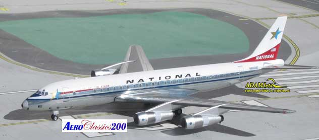 National Airlines Douglas DC-8-51 Reg. N8008D