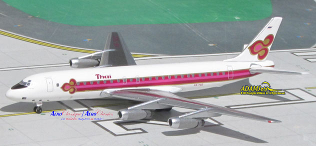 THAI Intl Airways Douglas DC-8-33 Reg. HS-TGO