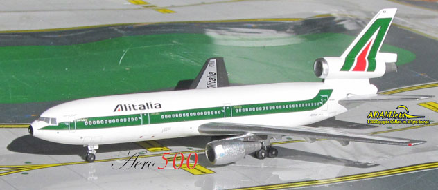 Alitalia Airlines McDonnell Douglas DC-10-30 Reg. I-DYNA