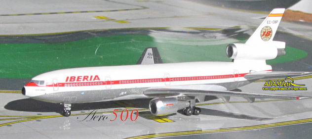 Iberia Airlines of Spain McDonnell Douglas DC-10-30 Reg. EC-CBP