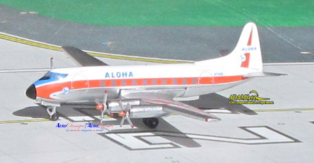 Aloha Airlines^Vickers Viscount 745D Reg. N7410