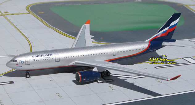 Aeroflot Russian Airlines Airbus A330-243 Reg. VP-BLY