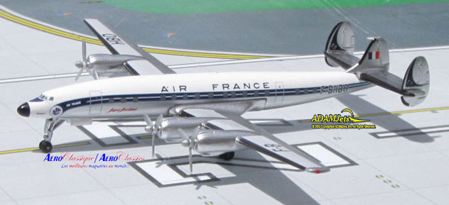Air France Airlines Lockheed L-1649A Reg. F-BHBO
