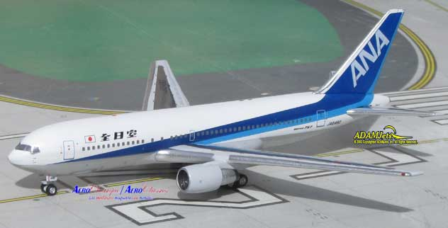 ANA - All Nippon Airways Boeing B767-281 Reg. JA8480