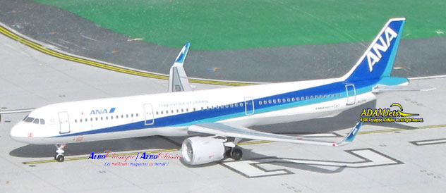 ANA - All Nippon Airways^Airbus A321-272/Neo Reg. JA132A