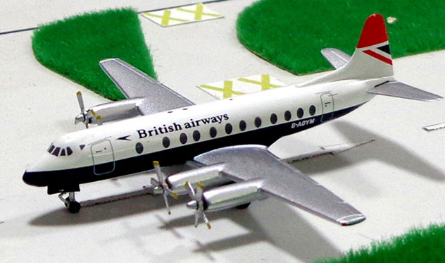 British Airways Viscount 806 Reg. G-PYM