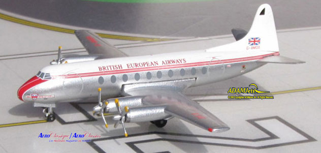 BEA - British European Airways Viscount 701 Reg. G-AMOA