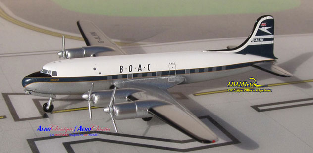 BOAC - British Overseas Airways Corporation Canadair CL-4 North Star Reg. G-ALHN