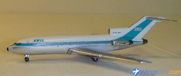 BWIA - British West Indies Airlines Boeing B727-078 Reg. 9Y-TCP
