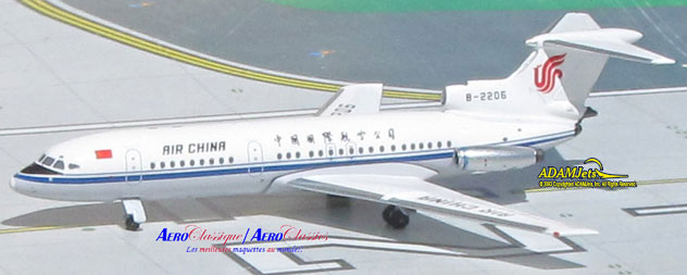 Air China Airlines Hawker Siddle Trident II Reg. B-2206