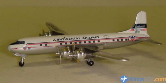 Continental Airlines Douglas DC-6B Reg. N90961