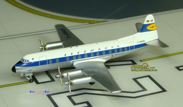 Lufthansa Airlines Viscount 814 Reg. D-ANAB