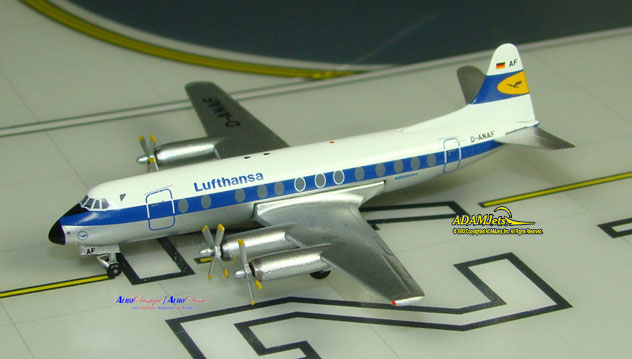 Lufthansa Airlines Viscount 814 Reg. D-ANAF