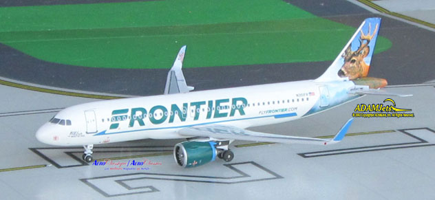 Frontier Airlines Airbus A320-251/Neo Reg. N301FR