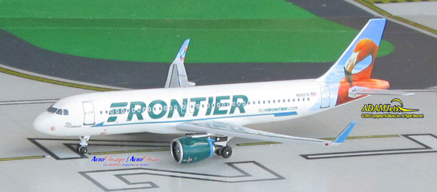 Frontier Airlines Airbus A320-251/Neo Reg. N302FR