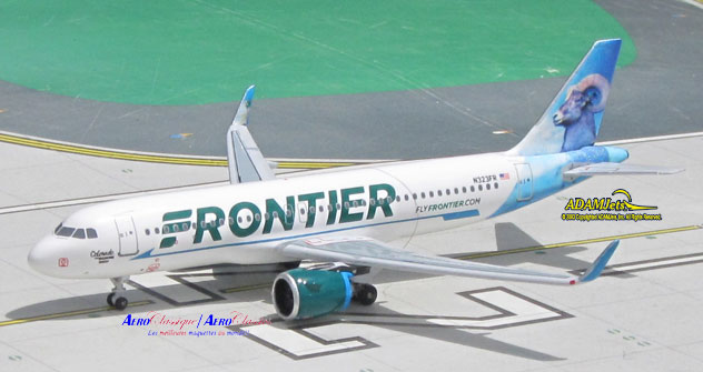 Frontier Airlines Airbus A320-251Neo Reg. N323FR