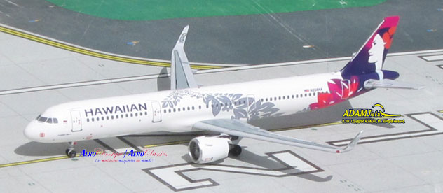 Hawaiian Air Airlines Airbus A321-271Neo Reg. N204HA