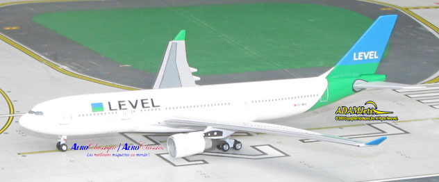 LEVEL Airlines Airbus A330-202 Reg. EC-MOU