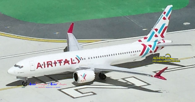 Air Italy Airlines Boeing B737-8Max Reg. EI-GFY