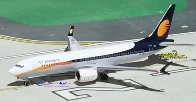 Jet Airways Boeing B737-8Max Reg. VT-JXA