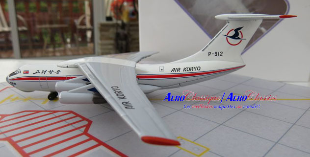 Air Koryo Airlines Ilyushin IL-76MD Reg. P-912