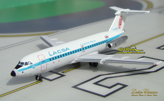 LACSA - Lineas Aereas Costarricenses British Aerospace BAC 111-409AY Reg. TI-1055C