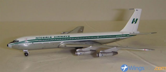 Nigeria Airways Boeing 707-3F9C Reg. 5NABJ""