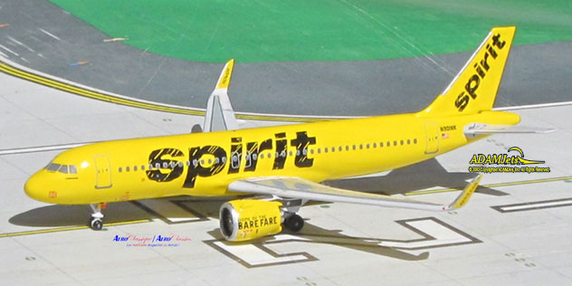 Upcoming products adamjets airplane for Spirit airlines one way