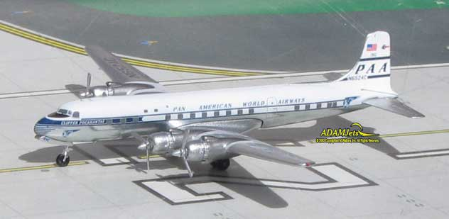 Pan American World Airways Douglas DC-6B Reg. N6524C