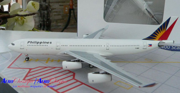 Philippines Airlines Airbus A340-211 Reg. F-OHPI