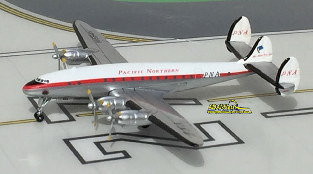 Pacific Northern Airlines Lockheed L-749 Constellation Reg. N1554V