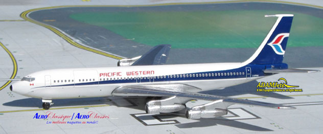 Pacific Western Airlines Boeing B707-351C Reg. C-FPWI