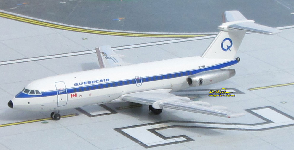 Quebecair Airlines British Aerospace BAC 111-304AX Reg, C-FQBN