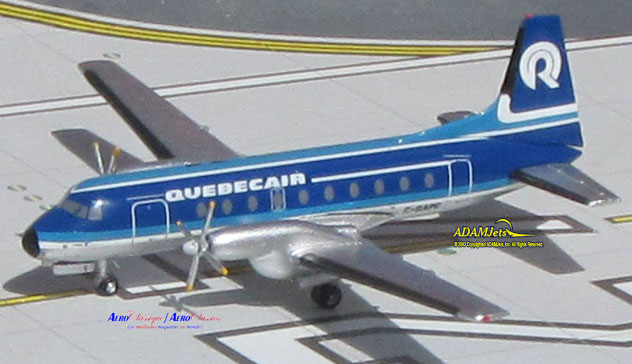 Quebecair Airlines Hawker Siddle HS-748 Reg. C-GAPC