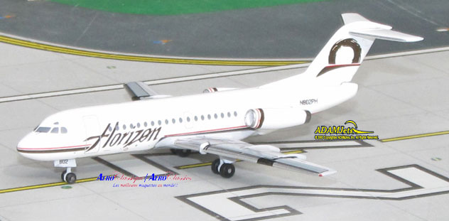 Horizon Air Airlines Fokker F-28 Fellowship Reg. N802PH