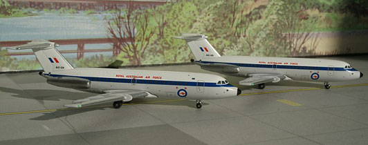 "RAAF - Royal Australian Air Force British Aerospace BAC 111-217EA ""Twin Pack"""