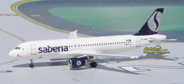Sabena Airlines Airbus A320-214 Reg. OO-SNE [ACSAB054] - $27.95 ...