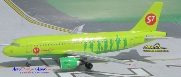 S7 - Siberia Airlines Airbus A319-114 Reg. VP-BTO