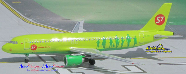 S7 - Siberia Airlines Airbus A320-214 Reg. VP-BET