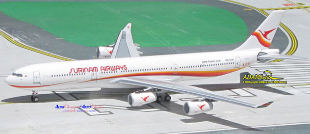 Surinam Airways^Airbus A340-311 Reg. PZ-TCP