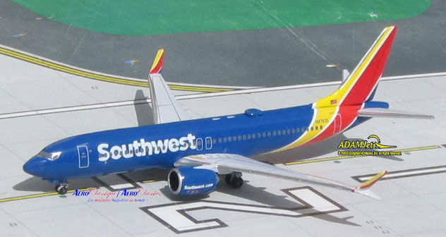 Southwest Airlines Boeing B737-8Max Reg. N8702L