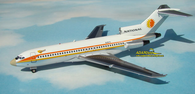 National Airlines Boeing B727-035 Reg, N4615