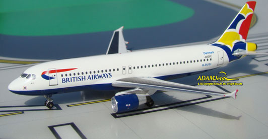 British Airways Airbus A320-232 Reg. G-BUSI