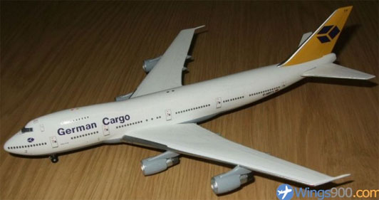 German Cargo Airlines Boeing B747-230/BSF Reg. D-ABYY